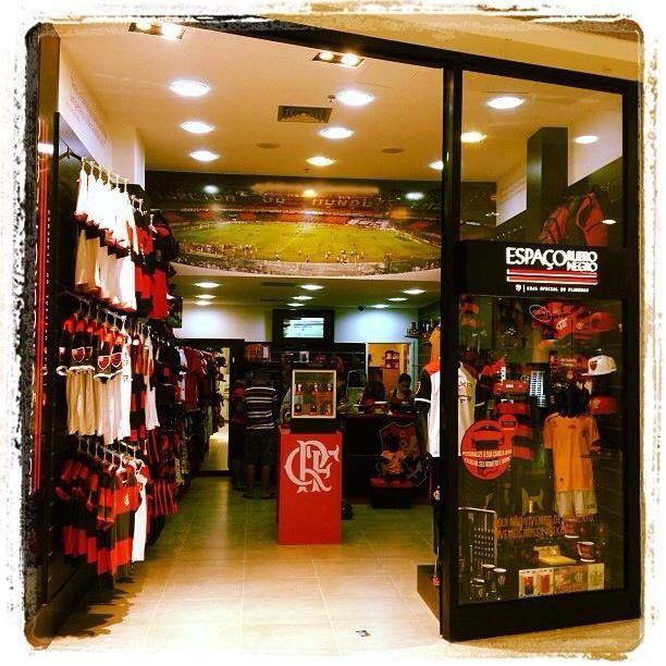 Espaço Rubro Negro no Caxias Shopping