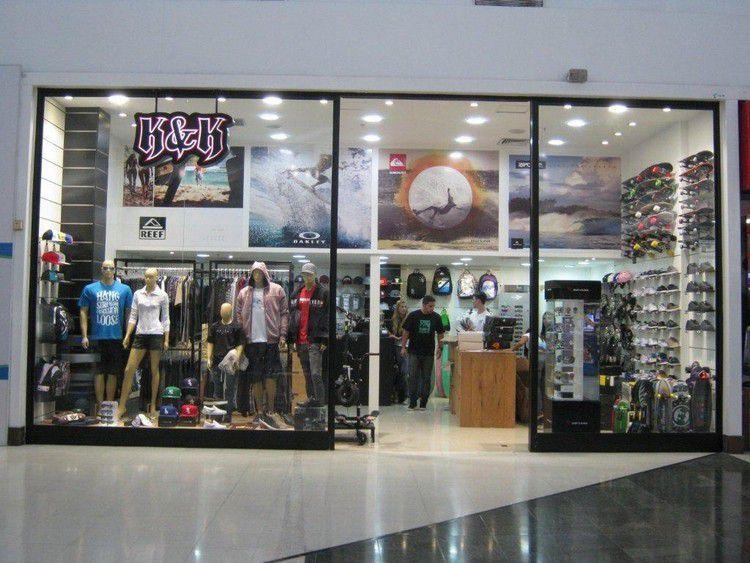 Projeto de Arquitetura Comercial - Reforma da Loja K&K no Shopping Grande Rio