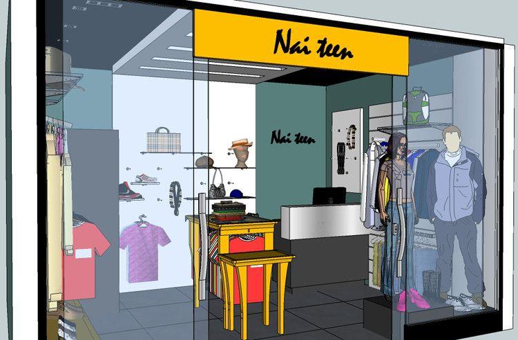 Projetos de Arquitetura para Lojas Nai Teen