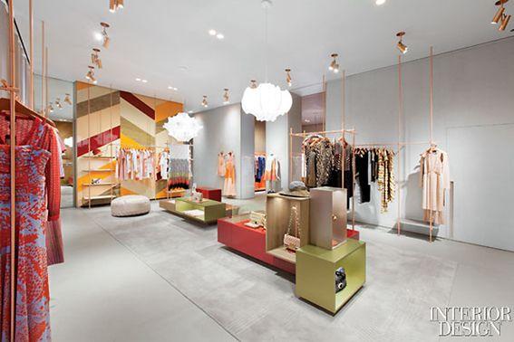 Arquitetura para lojas femininas
