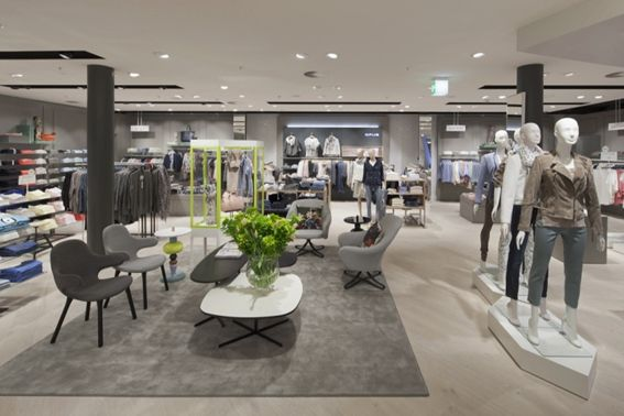 Arquitetura para lojas de roupas femininas