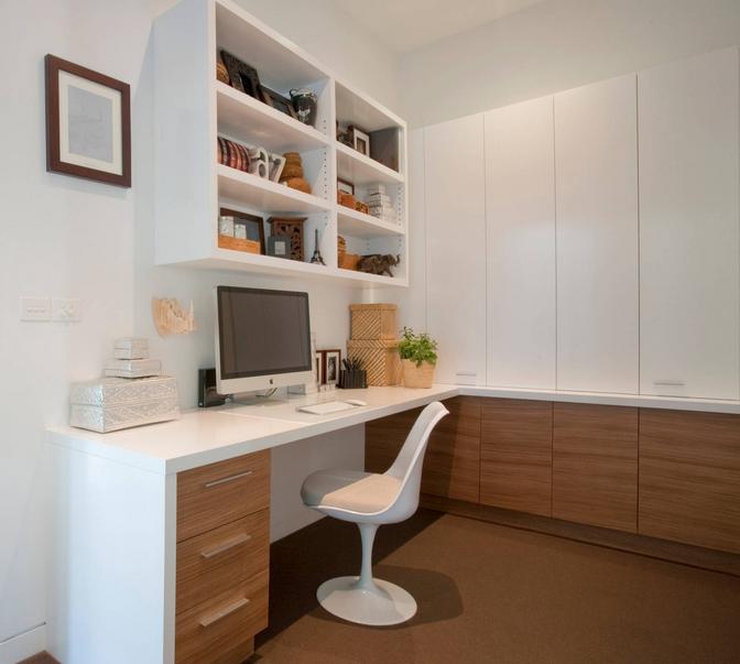 Uso da tipografia na decoração de escritório
