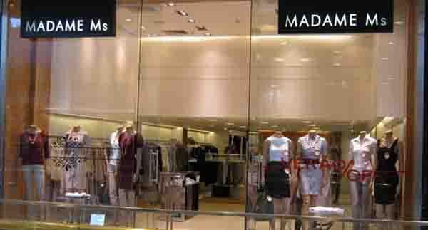 Arquitetura loja Madame MS