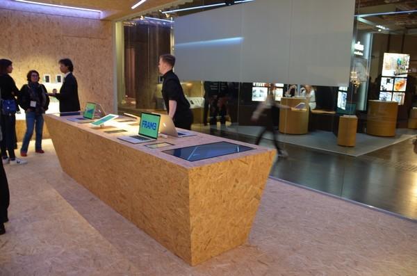 Tendência Euroshop: Uso de madeira na arquitetura