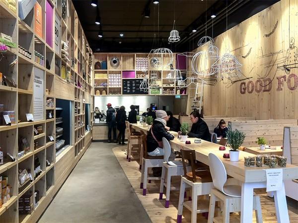 Ambientes integrados na arquitetura comercial