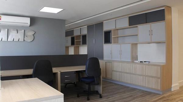 Projeto sob medida para escritórios