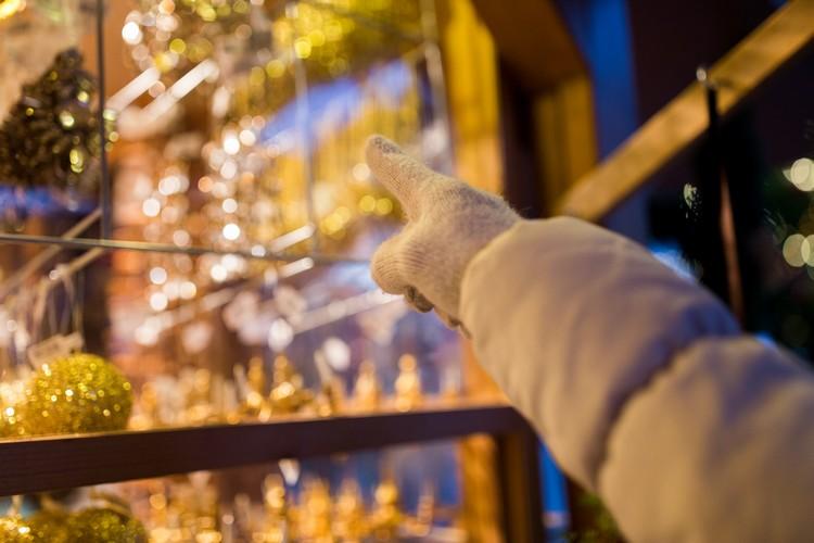 Decoração de Natal no comércio: vitrine é importante